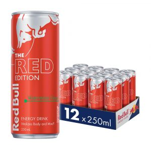 250ML REDBULL W/MELON CAN (12)