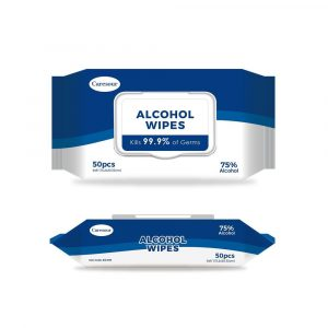 75% ALCOHOL WIPES (24X50)