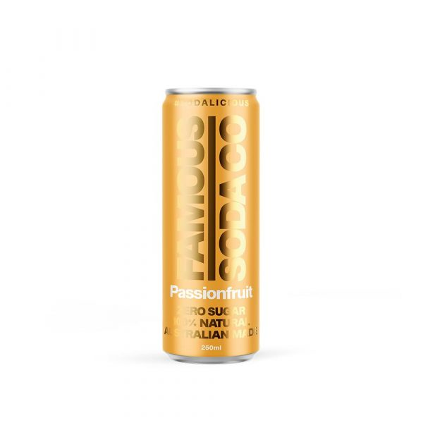 250ML FAM/SODA  CANS – PASSIONFRUIT (24)