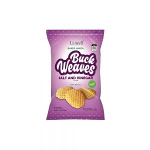 80G BUCKWEAVES/B SALT N VINEGAR (20)