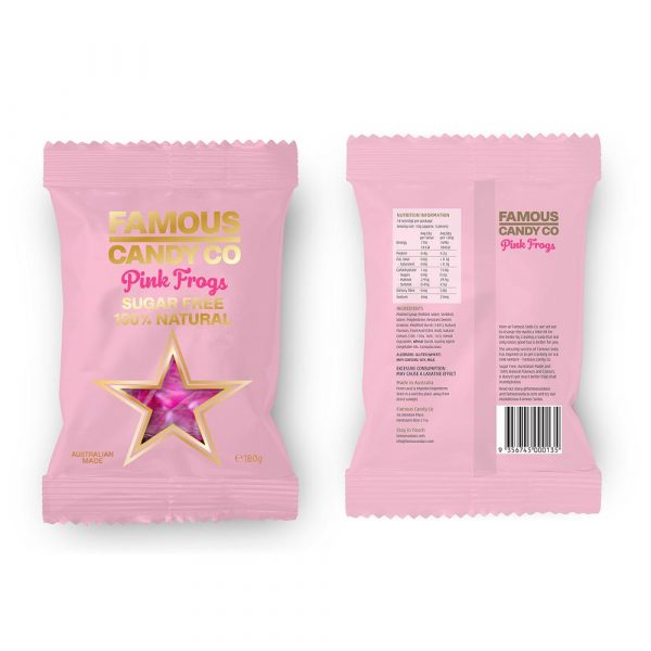 180G F/CANDY – PINK FROGS(12)