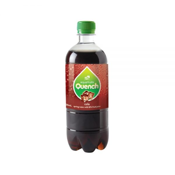 600ML QUENCH COLA (24)