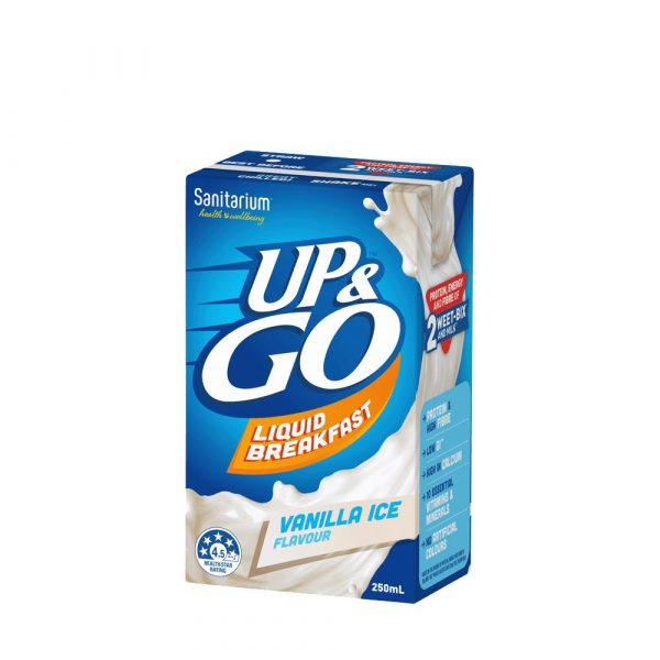 250ML UP&GO VANILLA ICE (12)