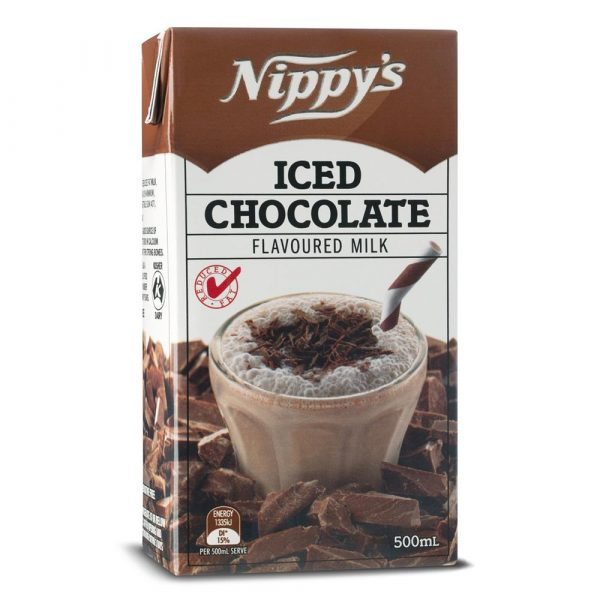 500ML NIPPYS CHOCOLATE MILK TETRA(12)
